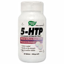 5-HTP with Vitamin B6 & C 60 tabs from Nature's Way