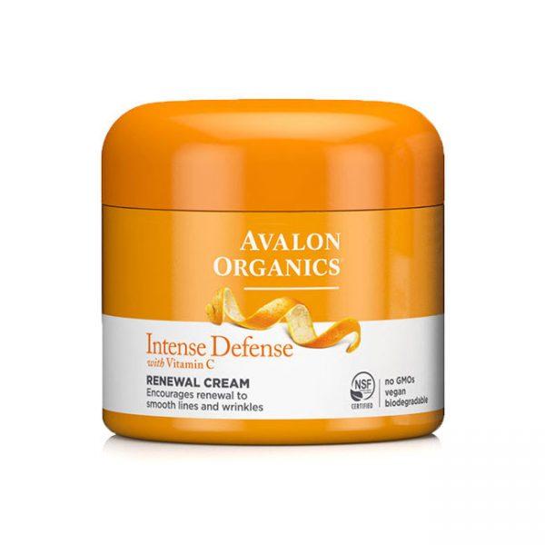Vitamin C Renewal Facial Cream 2 oz, Avalon Organics