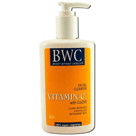 Vitamin C with CoQ10 Facial Cleanser, 8 oz, Beauty Without Cruelty