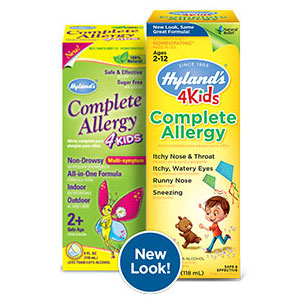 4 Kids Complete Allergy Liquid, Natural Relief for Children, 4 oz, Hyland's