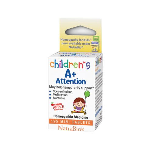 A+ Attention 125 Tabs by Herbs For Kids