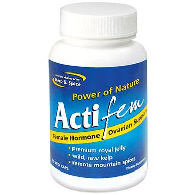 ActiFem, Female Health, 90 Vegetarian Capsules, North American Herb & Spice