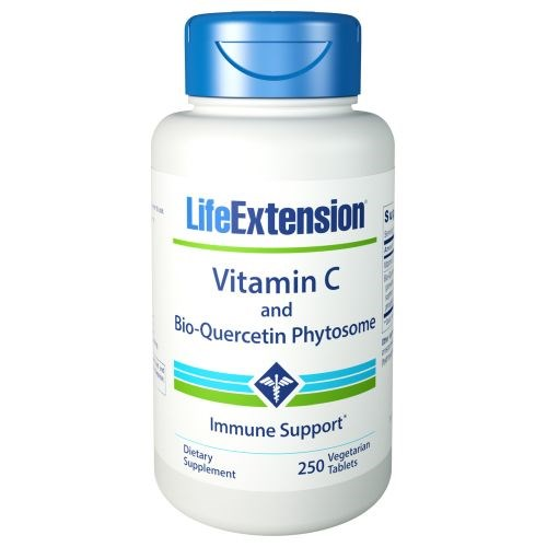 Vitamin C with Bio-Quercetin 250 Veg Caps by Life Extension