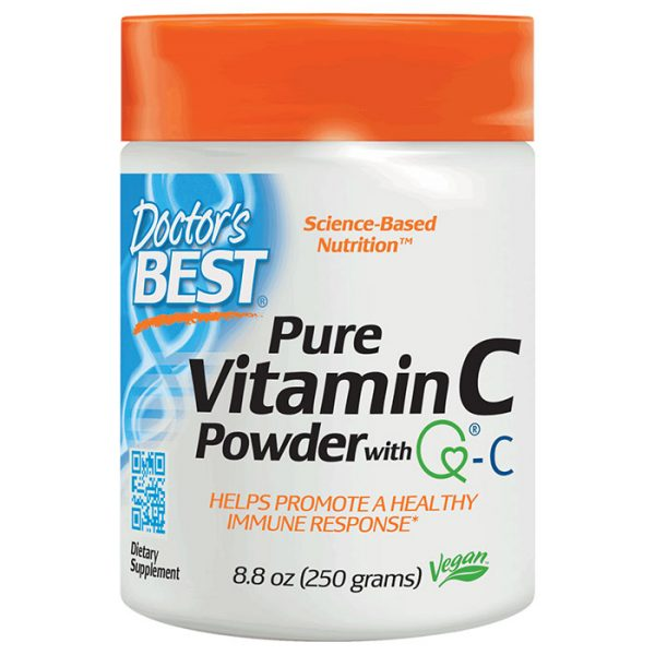Pure Vitamin C Powder with Quali-C, 250 g, Physician's Greatest