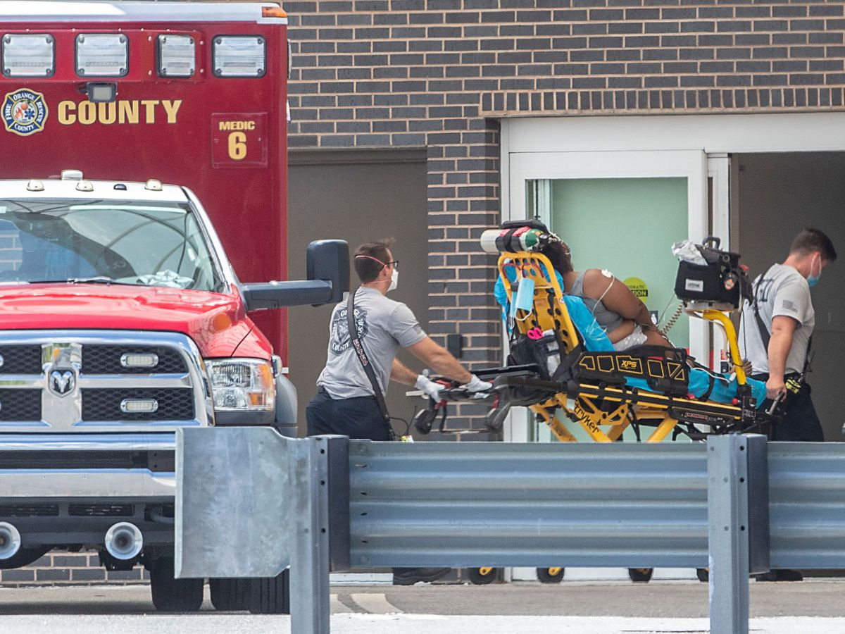 Transportable morgues head to Central Florida for 'unprecedented' loss of life toll amid COVID surge