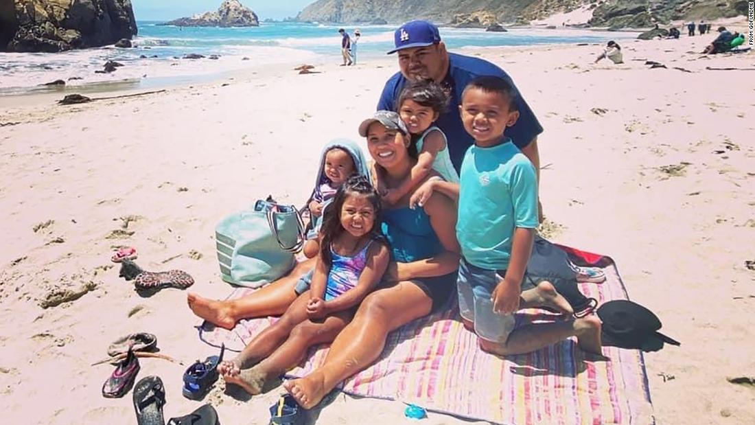 A California couple died of Covid-19 weeks aside, orphaning 5 younger kids together with a new child